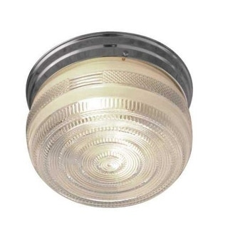 "Sunset Lighting F3277 2 Light 120 Watt 9"" Wide Flush Mount Ceiling Fixture"