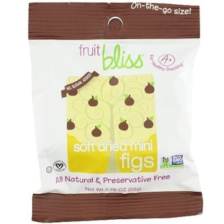 Fruit Bliss - Dried Mini Figs ( 12 - 1.76 oz bags)