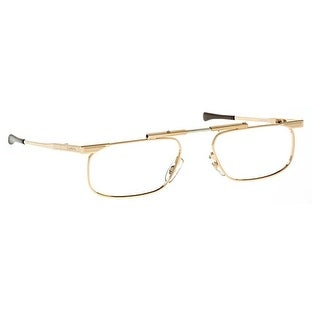 Kanda Slimfold Model 5 Gold Temples 1.25 Folding Reading Glasses