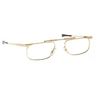 Kanda Slimfold Model 5 Gold Temples 2.50 Folding Reading Glasses
