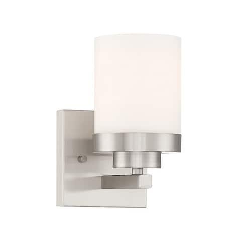 """Designers Fountain 69601 Kaden Single Light 4-1/2"""" Wide Bathroom"""