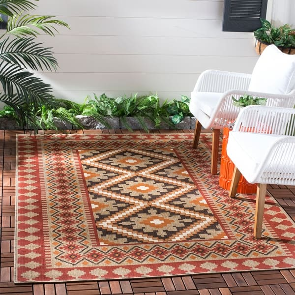 Safavieh Veranda Eyvor Indoor Outdoor Rug On Sale Overstock 8398527
