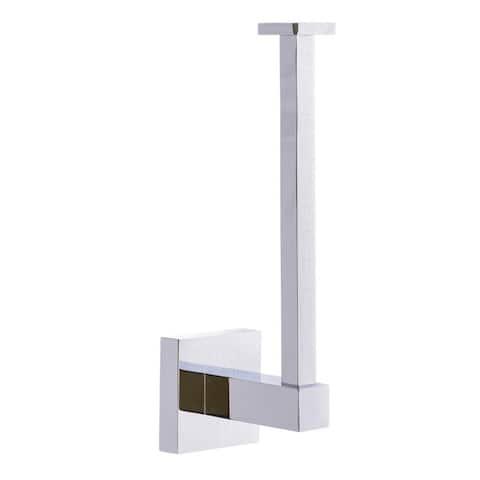 Italia Capri Series Vertical Toilet Paper Holder in Polished Chrome - Polished Chrome