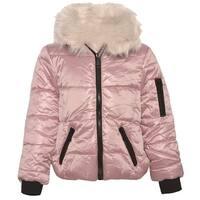 Urban Republic Little Girls Pink Full Zipper Closure Puffer Jacket