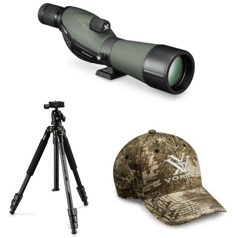 Vortex DBK-60S1 Diamondback 20-60x60 Spotting Scope with Tripod & Cap