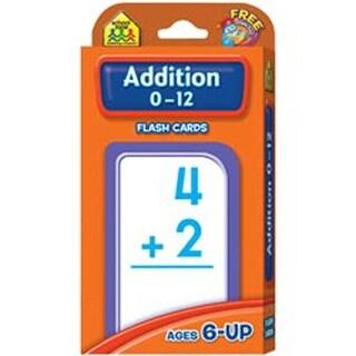 Addition 0-12 55/Pkg - Flash Cards