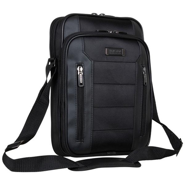 Kenneth Cole Reaction Keystone Vertical Tablet Messenger Bag. Opens flyout.