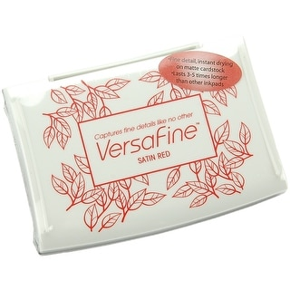 Versafine Pigment Ink Pad-Satin Red