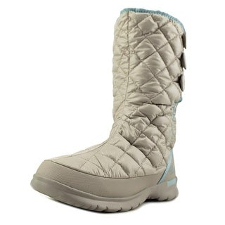 The North Face Thermoball Button-Up   Round Toe Canvas  Winter Boot