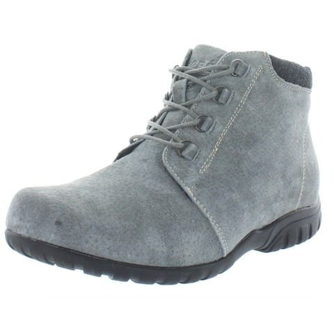 Propet Womens Delaney Ankle Boots Solid Lace-Ip