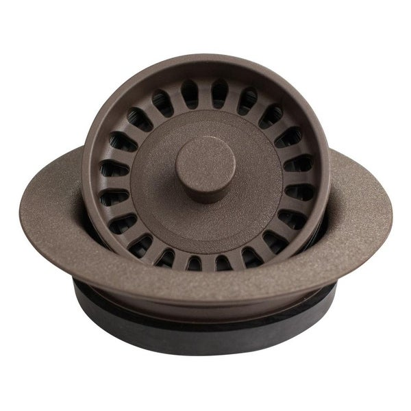 Karran Kitchen Sink Decorative Disposal Flange in Black. Opens flyout.