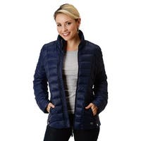 Roper Western Jacket Womens Down Filled Zip Front