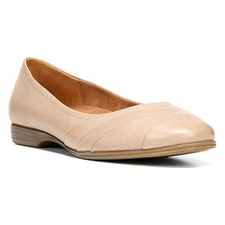 Naturalizer Womens jaye Leather Closed Toe Ballet Flats