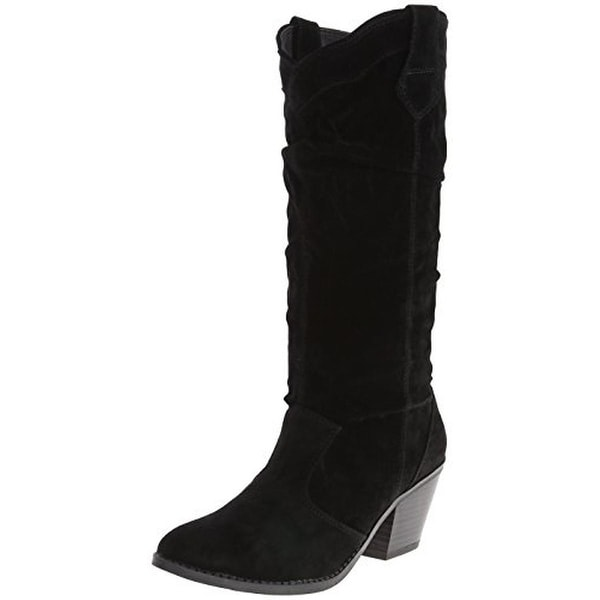 Qupid Womens Slouchy Cowboy, Western Boots