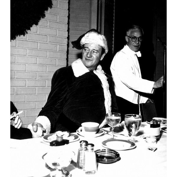 John-Wayne-in-a-Santa-Costume-Photo-Prin