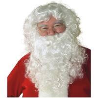 Economy Santa Wig & Beard Set Adult Costume Accessory