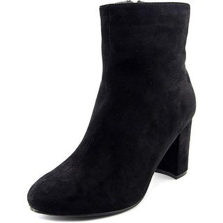 Diba Alistar   Round Toe Canvas  Ankle Boot