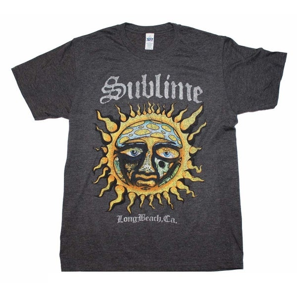 Sublime Logo Stamp Sun Soft T-Shirt