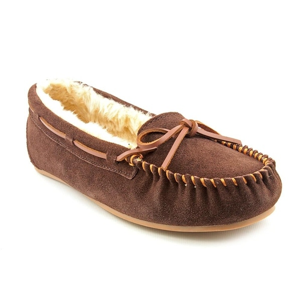 Tamarac Molly Women N/S Leather Brown Moccasins