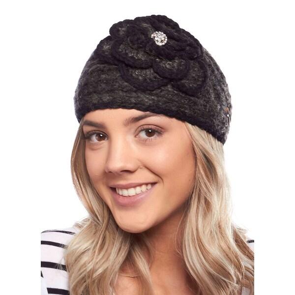 Polar Poppy Knit Headband