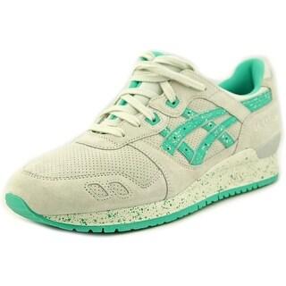 Asics Gel-Lyte III Women Round Toe Suede White Running Shoe