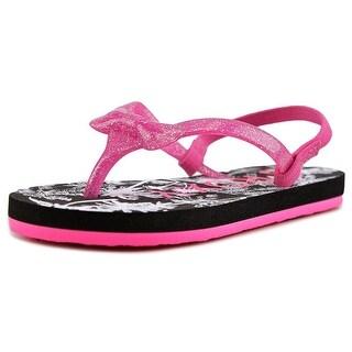 Roxy Fifi Toddler Open Toe Synthetic Pink Flip Flop Sandal