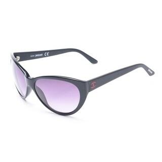 Just Cavalli Women's Cat Eye Sunglasses Black - Small