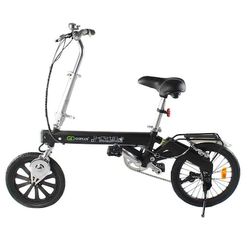 Costway 180W Lightweight Folding Electric Sporting Bicycle EBike Speed