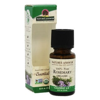 Nature's Answer Essential Oil Rosemary 0.5-ounce