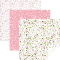 "Cricut 12""X12"" Patterned Premium Vinyl Sampler 6/Pkg-In Bloom Pink"