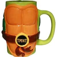 Teenage Mutant Ninja Turtles Molded Shell Mug