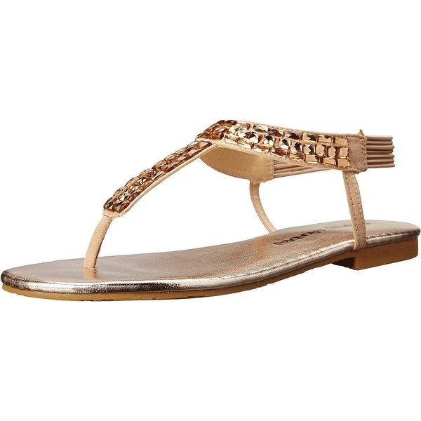 Dirty Laundry Womens Dl Natalina Micsd Open Toe Casual T-Strap Sandals
