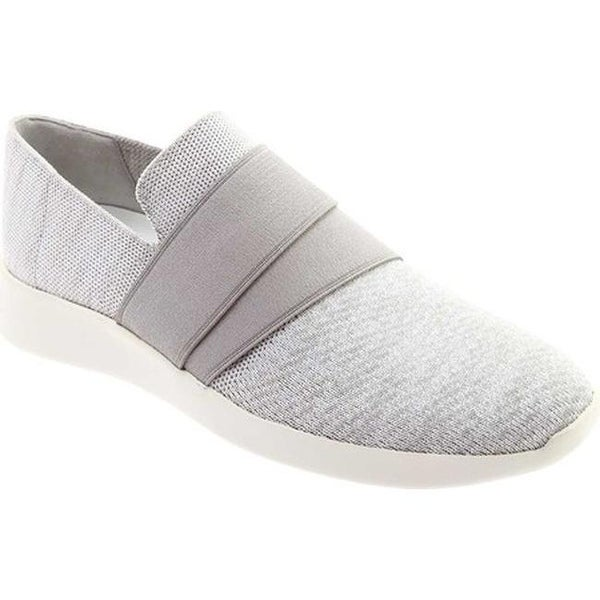 Aston Knit Slip-on Sneaker White