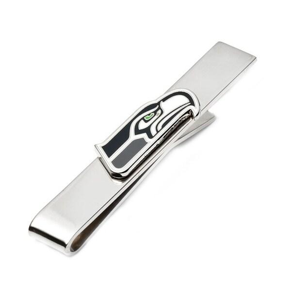 Seattle Seahawks Tie Bar - Silver