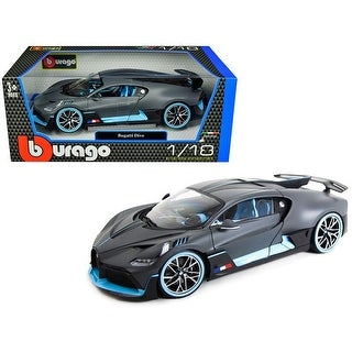 Link to Bugatti Divo Matt Gray with Blue Accents 1/18 Diecast Model Car by Bburago Similar Items in Fitness & Exercise Equipment