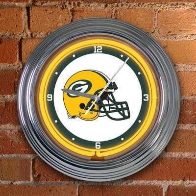 Memory Company Green Bay Packers Neon Clock