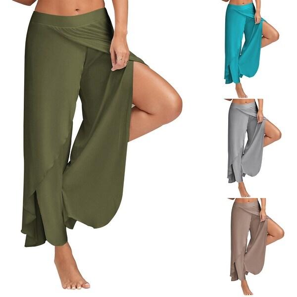 1bb39f16f250f Shop Tulipa Palazzo High Fashion Cocktail Pants - Free Shipping On ...