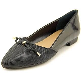Alfani Zelaa Women Pointed Toe Synthetic Black Flats