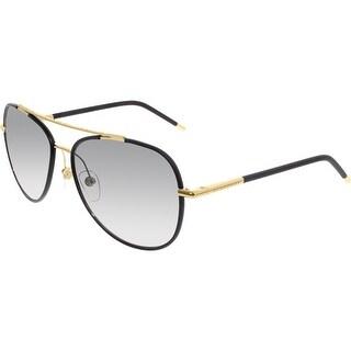 Burberry Men's Gradient BE3078J-114511-57 Grey Aviator Sunglasses
