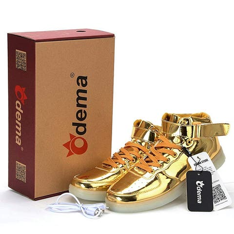Odema Women's Shoes Hight Hight Top Lace Up Fashion Sneakers