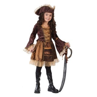 Sassy Victorian Pirate Girl Child Halloween Costume