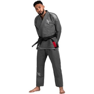 Hayabusa Lightweight Pearl Weave Jiu-Jitsu Gi - Gray