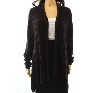 Eileen Fisher NEW Brown Women's Size XL Cardigan Wool Ribbed Sweater
