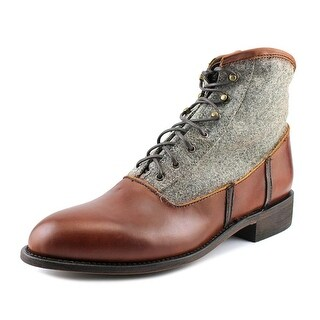 Independent Boot Company Noah   Round Toe Leather  Boot