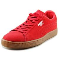 Puma Suede Classic Emboss Men  Round Toe Suede  Sneakers