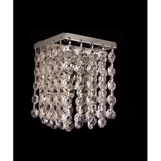 """Classic Lighting 16102-CH 4.5"""" Crystal Sconces from the Bedazzle Collection"""