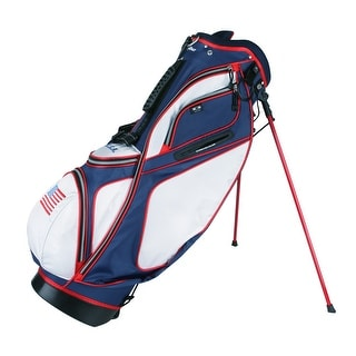 Link to Powerbilt TPS Dunes USA Flag Stand Golf Bag Similar Items in Golf Bags & Carts