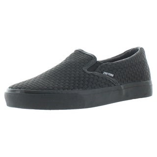 Zoo York Tail Men's Slip On Woven Skate Sneakers Shoes