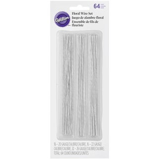 Gum Paste Floral Wire 64/Pkg-