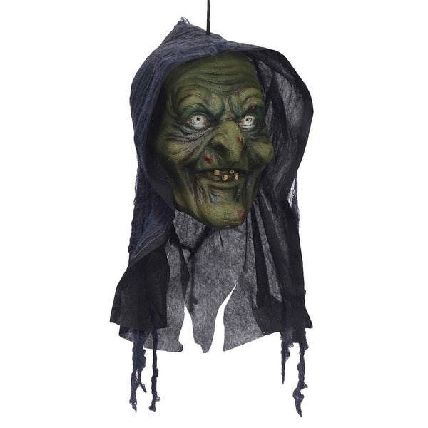 Witch Poly Foam Head Hanging Head Halloween Decoration